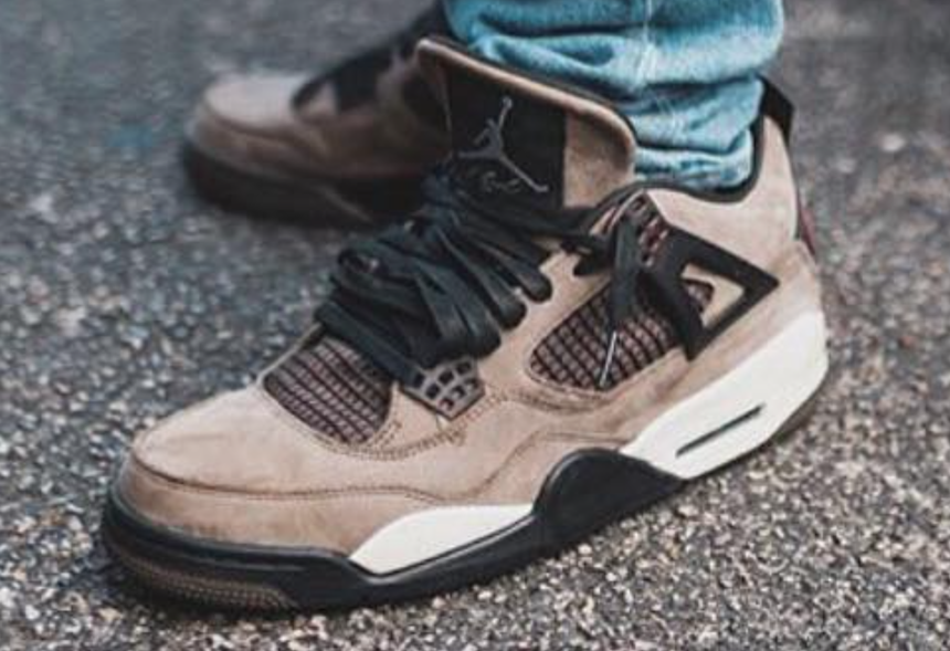 more photos 78123 38193 Travis Scott Air Jordan 4 Olive Release Date | SneakerFiles