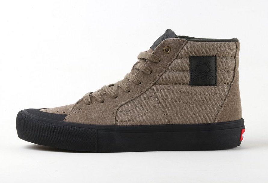 Vans SK8-Hi Pro Dakota Roche Covert Green Black | SneakerFiles