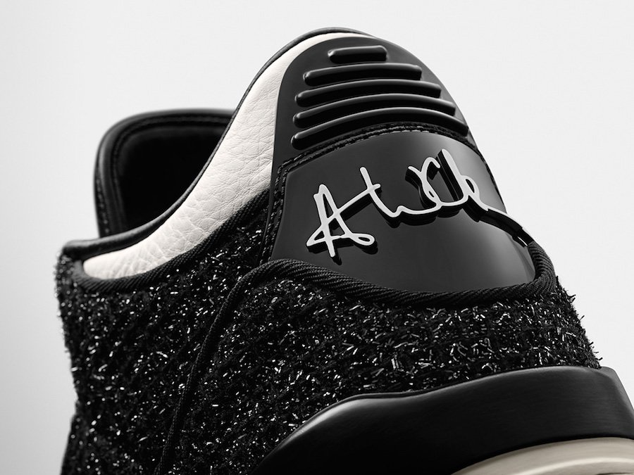 Vogue Air Jordan 3 AWOK Black