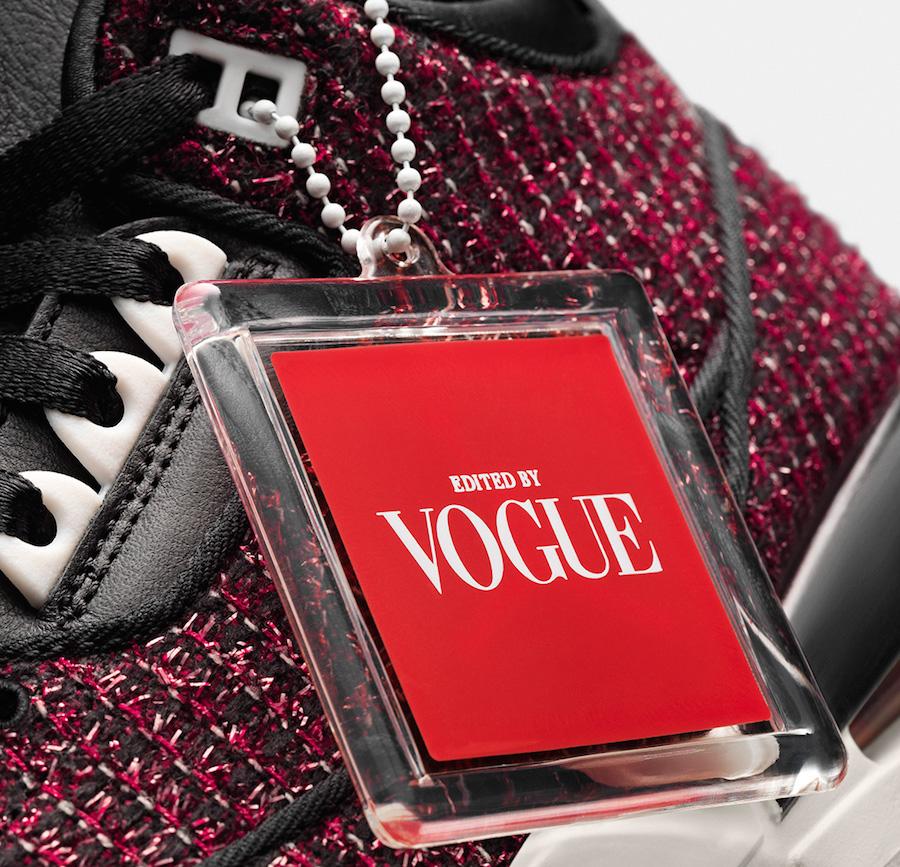 Vogue Air Jordan 3 AWOK University Red
