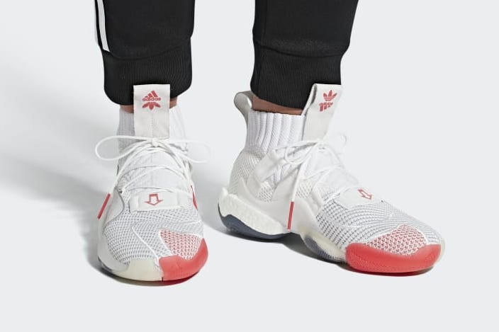adidas Crazy BYW X Cloud White Bright Red B42246