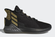 adidas D Rose 9 Black Gold BB7657