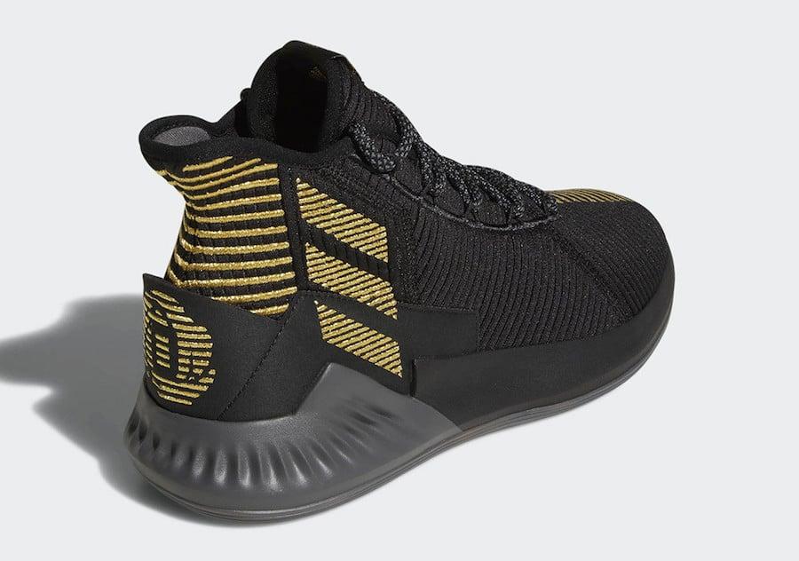 adidas D Rose 9 Black Gold BB7657