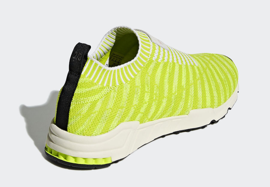 adidas EQT Support Sock Primeknit Solar Yellow B37545