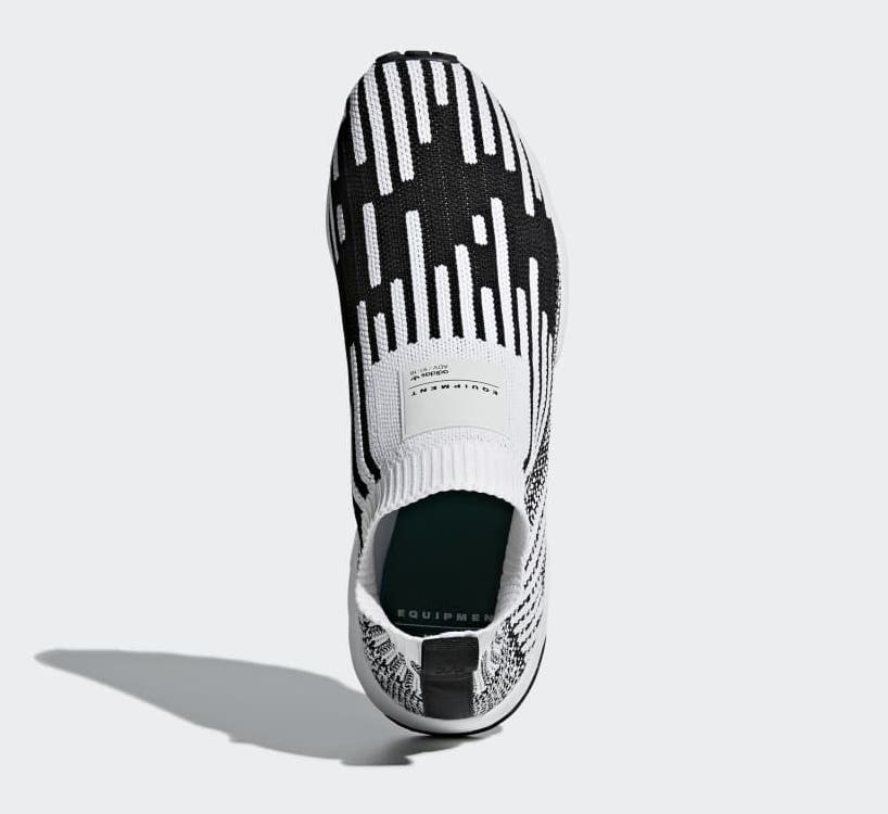 adidas EQT Support Sock Primeknit White Black B37524