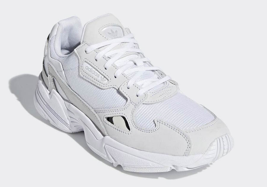 adidas Falcon Triple White B28128