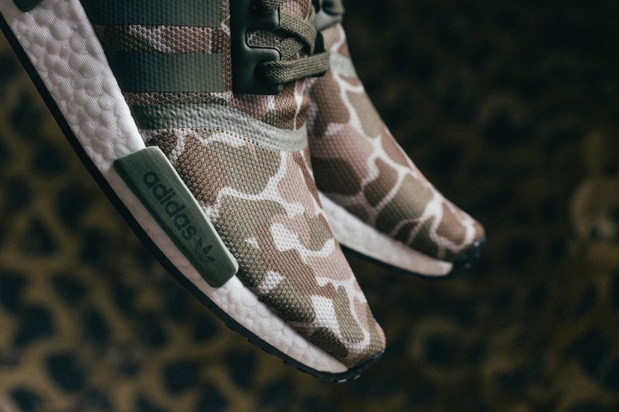 new product bb7ec 9981b adidas NMD R1 Duck Camo D96617