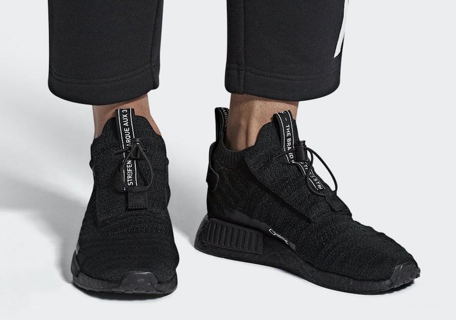3d7f108a53fe3 adidas NMD TS1 Gore Tex Triple Black AQ0927 Release Date