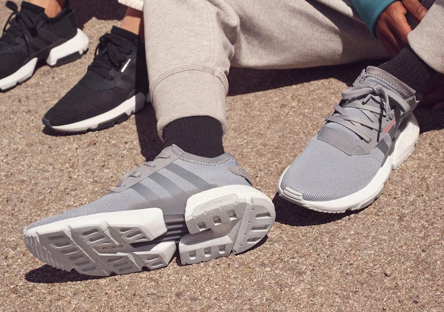 adidas POD S3.1 Clear Lilac B37469 Grey B37365