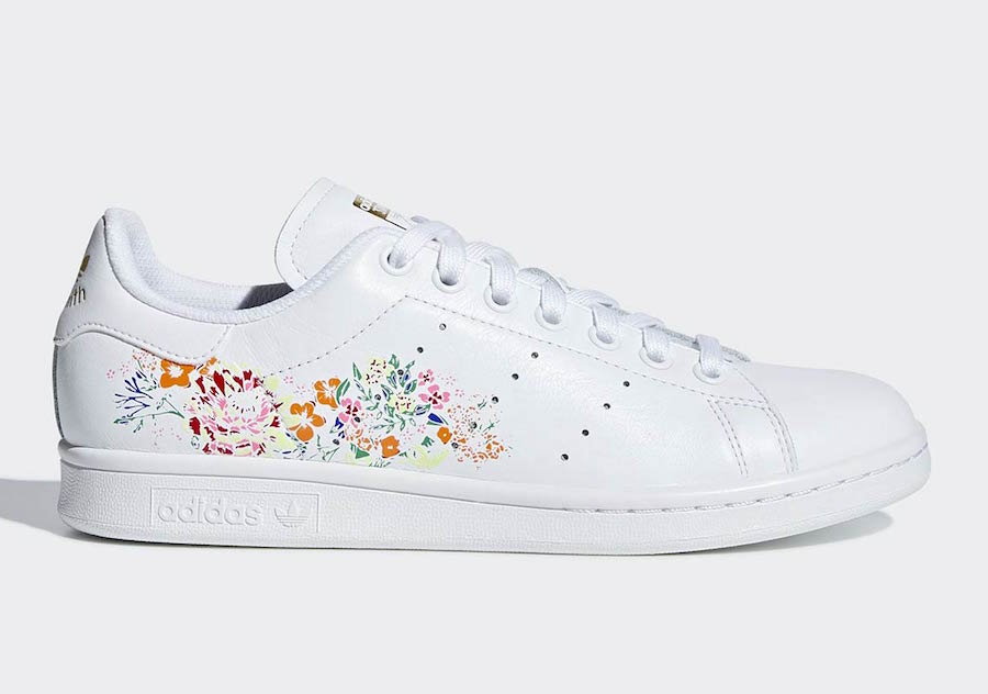 adidas Stan Smith Floral Print Pack