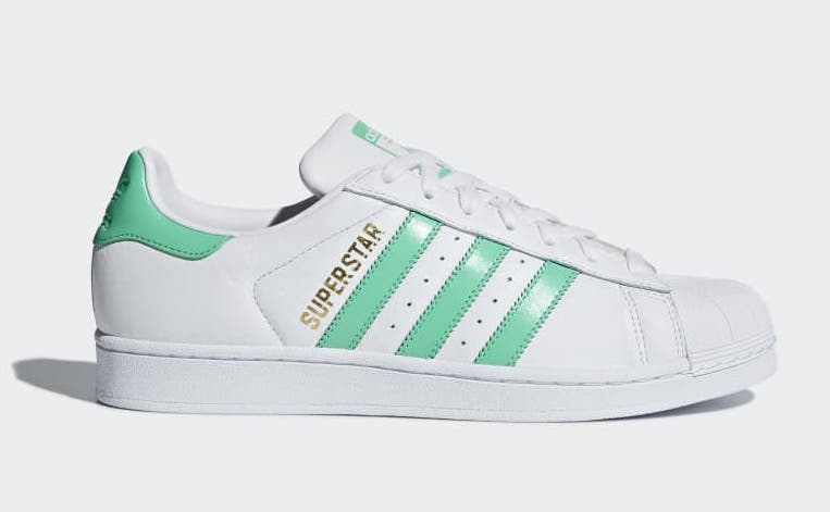 adidas Superstar Hi-Res Green B41995