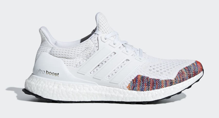 adidas Ultra Boost 1.0 White Multi BB7800 2018