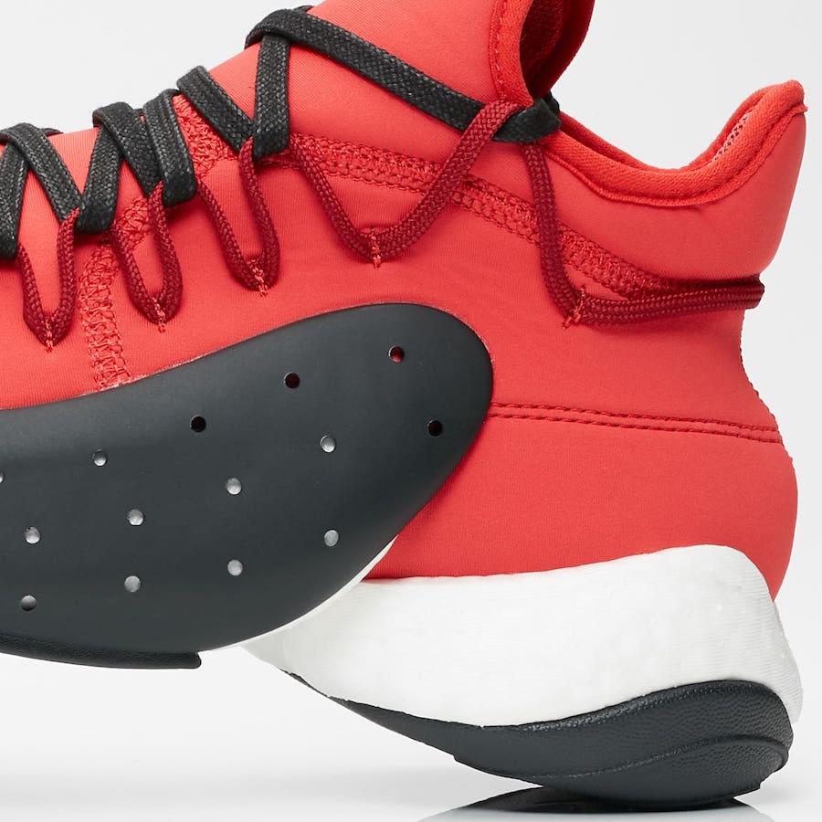 adidas Y-3 BYW BBall Lush Red BC0338