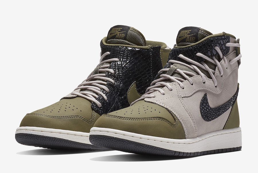 Air Jordan 1 Rebel XX Olive Canvas AR5599-300