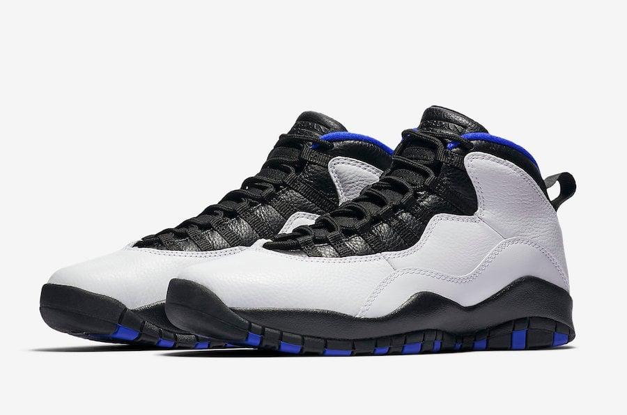 Air Jordan 10 Orlando 2018 310805-108 Release Date