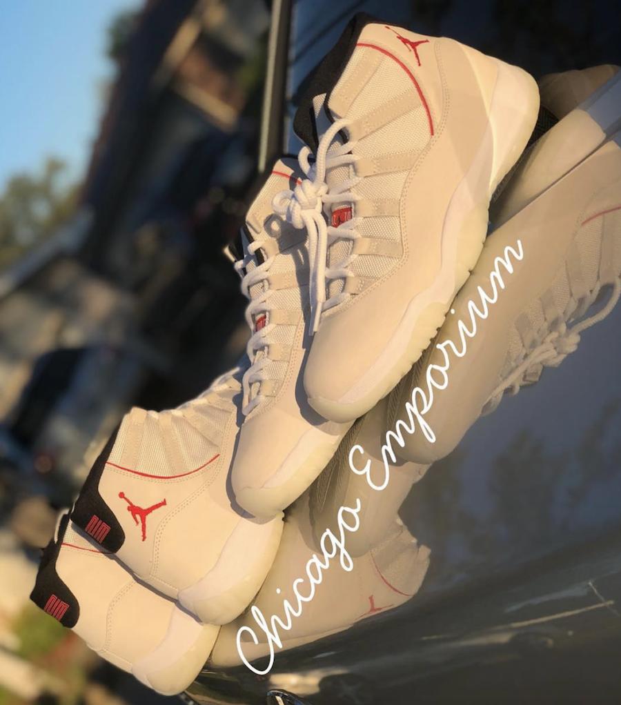 Air Jordan 11 Platinum Tint 378037-016 Release Date