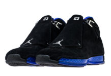 Air Jordan 18 Black Sport Royal AA2494-007