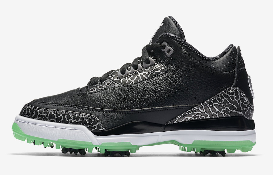 985443796ba446 Air Jordan 3 Golf Green Glow AJ3783-001 Release Date