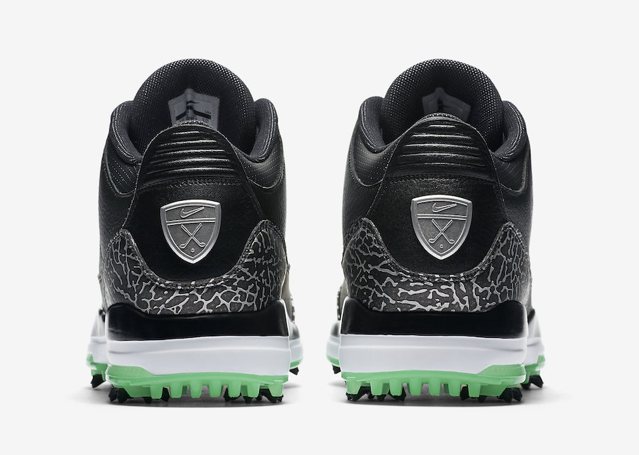 Air Jordan 3 Golf Green Glow AJ3783-001C