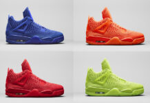 Air Jordan 4 Flyknit Colors Release Date