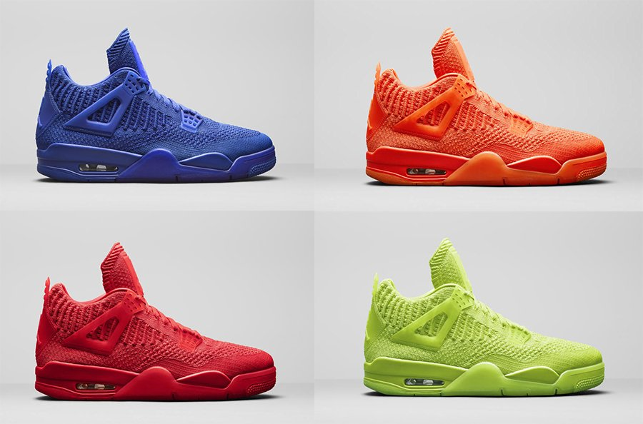 quality design 12655 e1c0a Air Jordan 4 Flyknit Colorways, Release Date | SneakerFiles