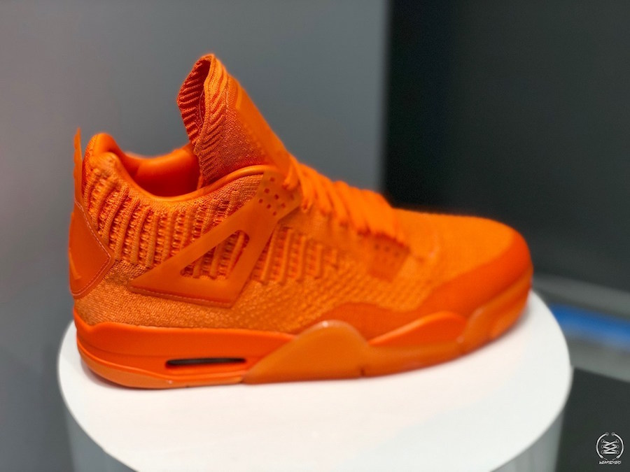 Air Jordan 4 Flyknit Orange AQ3559-800 Release Date