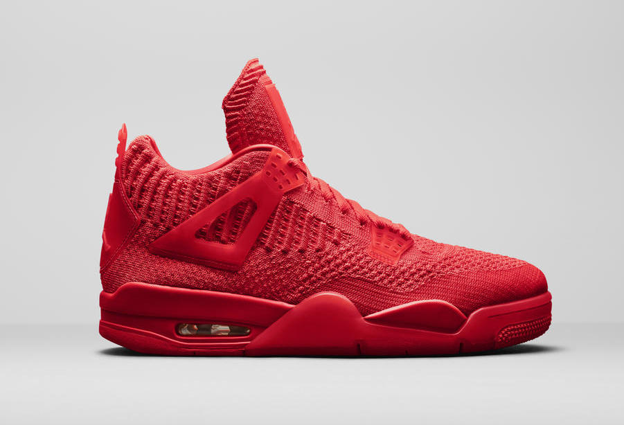 Air Jordan 4 Flyknit Red AQ3559-600 Release Date