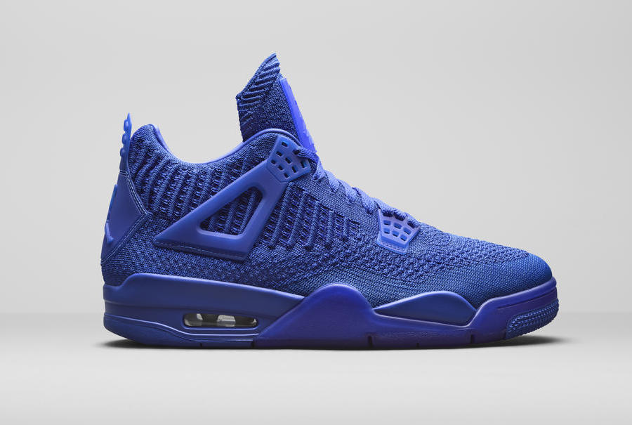 Air Jordan 4 Flyknit Royal Blue AQ3559-400 Release Date