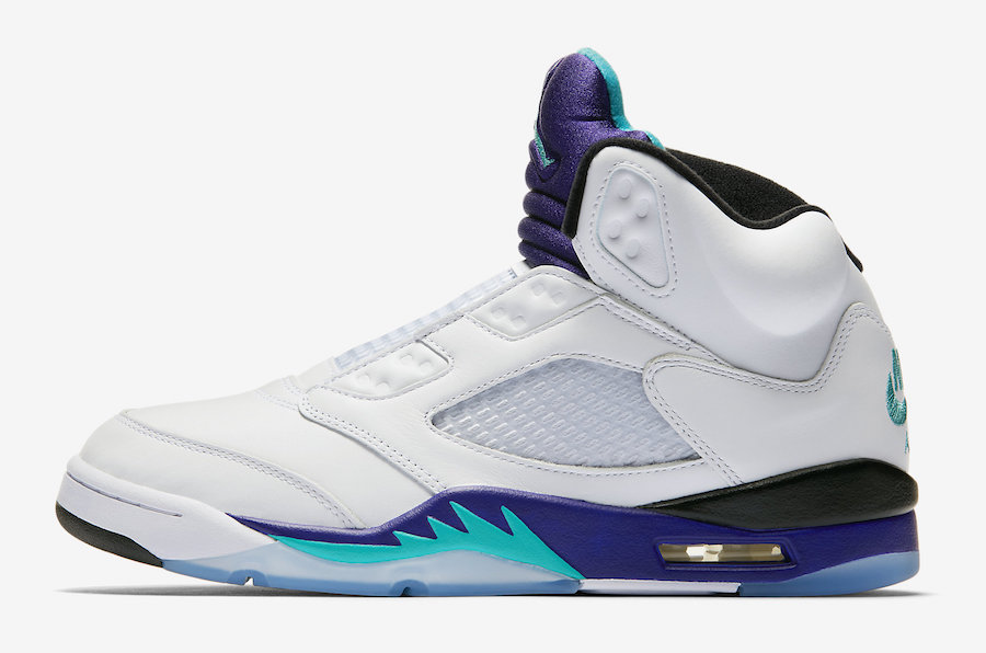 Air Jordan 5 NRG Fresh Prince Grape AV3919-135