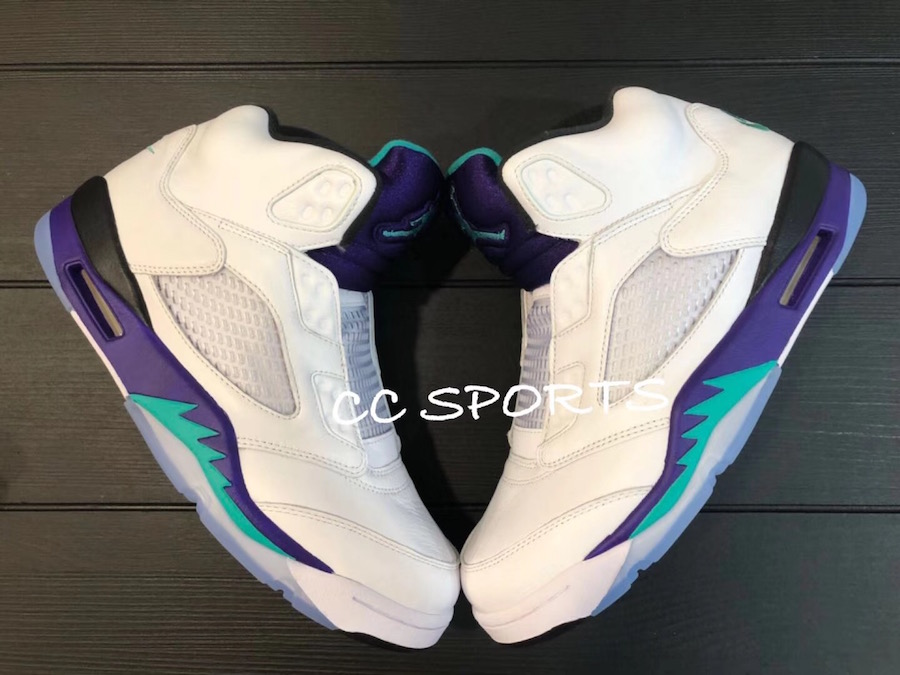 Air Jordan 5 NRG Fresh Prince Grape Release Date