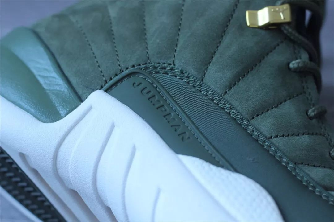 CP3 Air Jordan 12 Class of 2003 Olive Canvas 130690-301