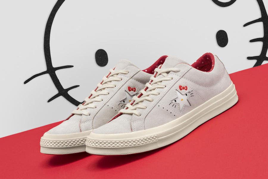 Hello Kitty Converse Chuck Taylor One Star Collection
