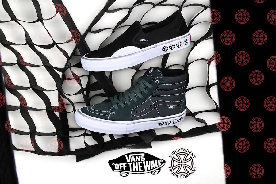 Independent Vans SK8-Hi Slip-On Collection