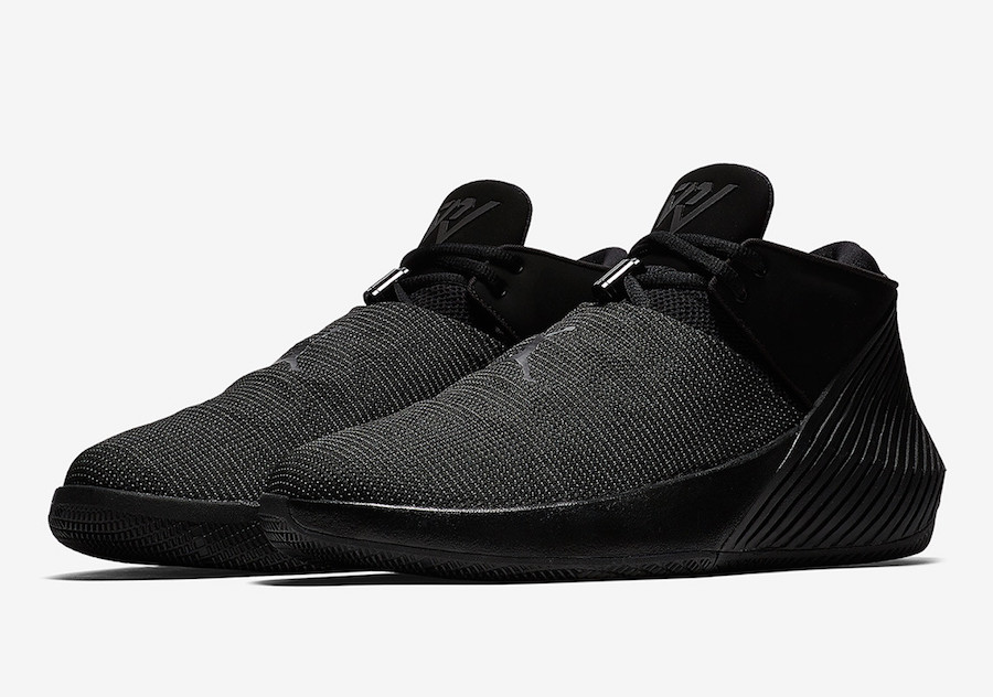 Jordan Why Not Zer0.1 Low Triple Black AR0346-001