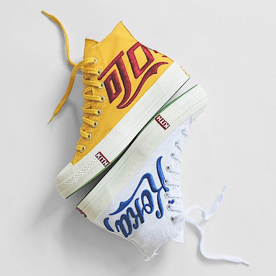 KITH Coke Converse Chuck Taylor Collection Release Date