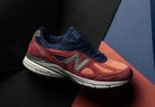 New Balance 990 Copper Rose