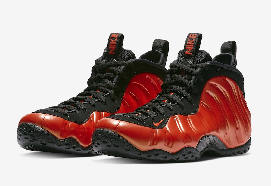 big sale 5d09e 73f0d Nike Air Foamposite One Habanero Red 314996-603 Release Date