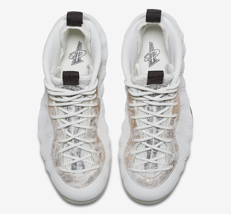Nike Air Foamposite One White Marble