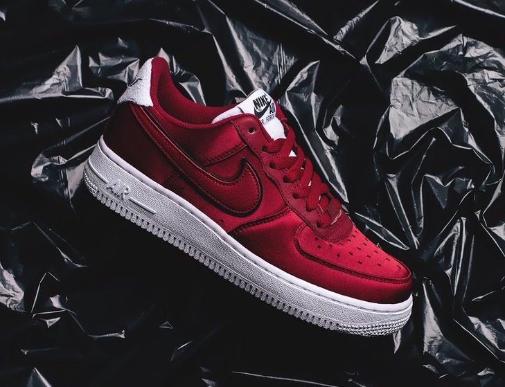 Nike Air Force 1 Low Red Velvet AA0287-602