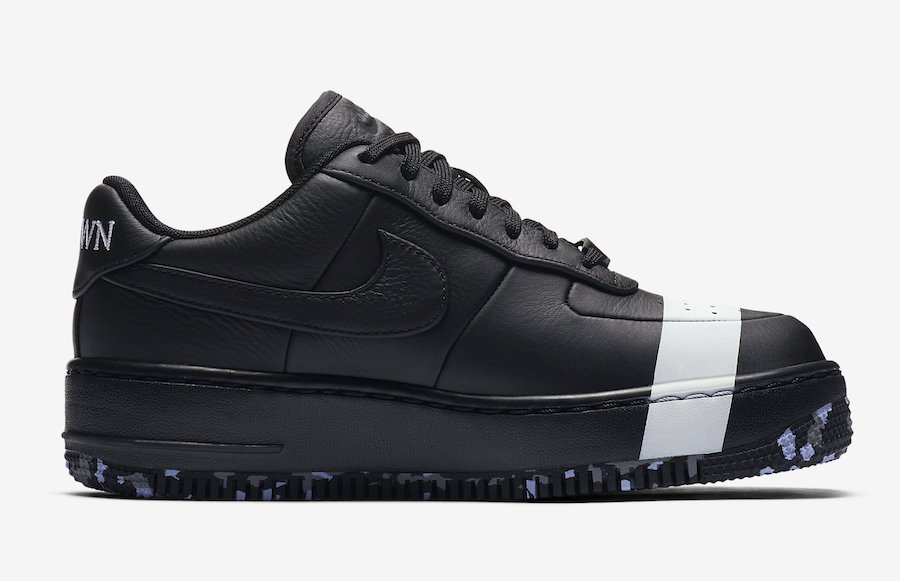 Nike Air Force 1 Low Upstep Black White 898421-001
