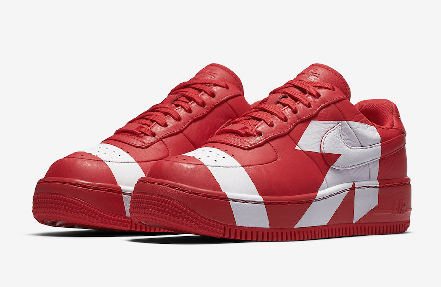 Nike Air Force 1 Low Upstep Red White 898421-601