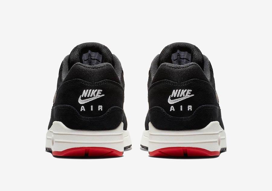 Nike Air Max 1 Mini Swoosh Bred 875844-007