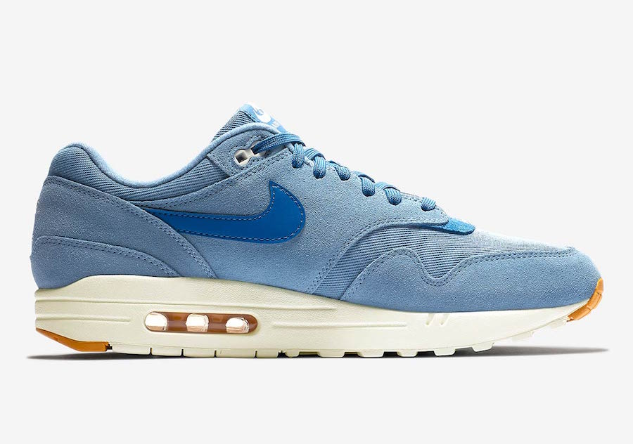 Nike Air Max 1 Premium Work Blue 875844-404