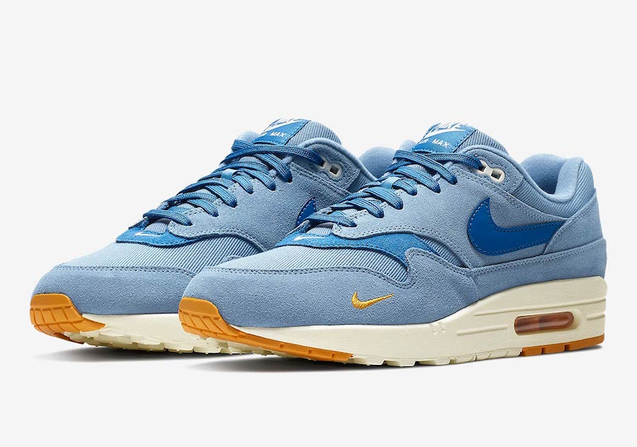 new style 99ee1 ad8d0 Nike Air Max 1 Premium Work Blue 875844-404