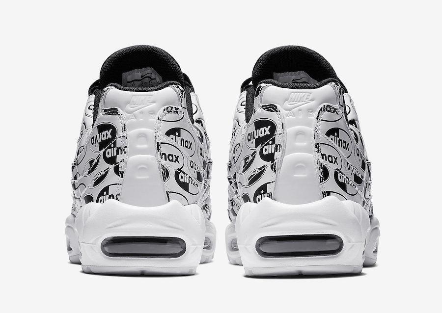 Nike Air Max 95 Premium White Black 538416-103