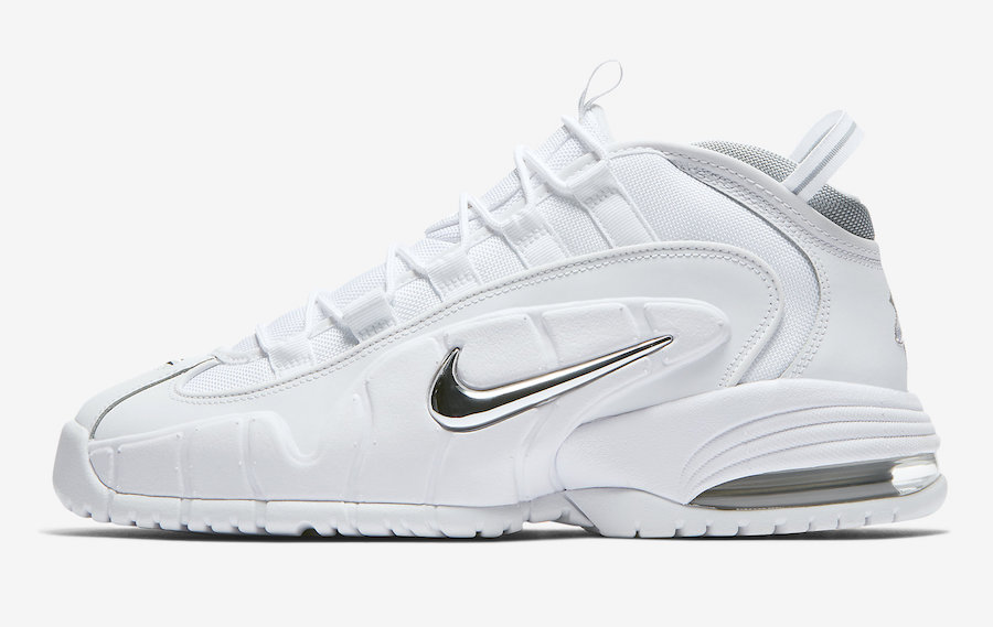 new style 16044 246d5 Nike Air Max Penny 1 White Metallic 685153-100