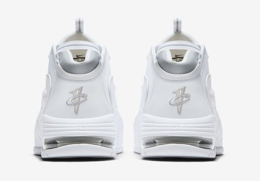 Nike Air Max Penny 1 White Metallic 685153-100