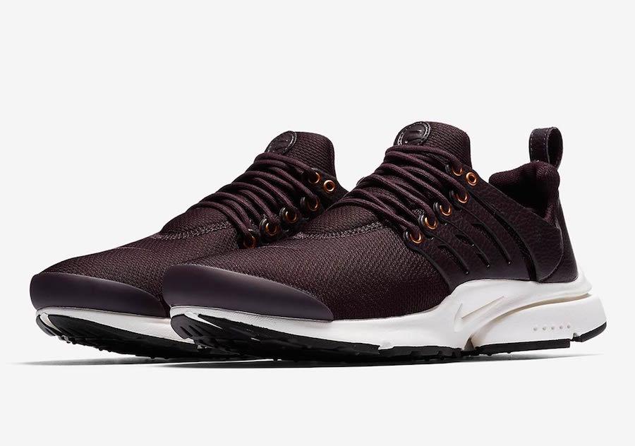 Nike Air Presto Premium Burgundy 848141-600