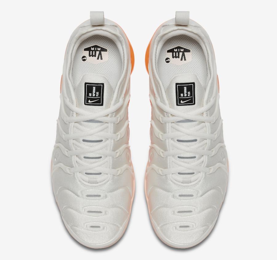 Nike Air VaporMax Plus White Orange AO4550-005