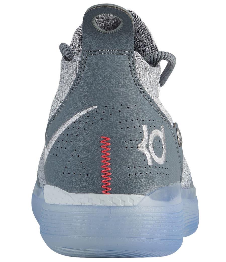 9a87f4702fc Nike KD 11 Cool Grey AO2604-002 Release Date